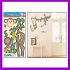 Animal wall decoration/cartoon animals wall stickers