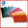 fashion women pu envelope wallet / ladies' wallet case