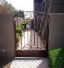 used wrought iron door gates