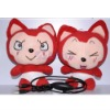 USB Couple Plush Doll Speaker for gifts