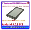 """7"""" tablet pc prices Dual cameras A5 Built-in 2G+3G+GPS+Bluetooth (722)"""