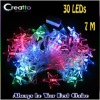 New 7M 30LEDs Five-pointed Star Shaped Multicolor Changing LED String Christmas Lights