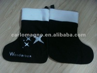 calssic style christmas socks with star design
