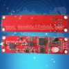 PCB wireless DMX receiver/transmitter