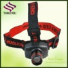 ABS material led headlamp with switch