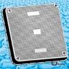 SMC Manhole Cover BS EN124 750mm x 750mm D400 / square manhole cover