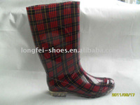 2011 new style Lady's PVC rain boot