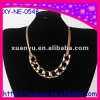 fashion unique jewelry fake chunky gold necklace for dress