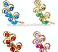 custom made rhinestone brooches jewelry