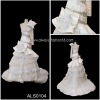 purple and white wedding dresses als0104