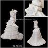 purple and white wedding dresses als0104