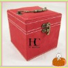 Red Color Jewelery Box