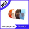 jelly wrist waterproof ion silicone sport watch