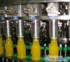 Monoblock bottled fruit juice making machine