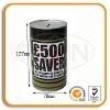 Round Tin Money Saving Bank