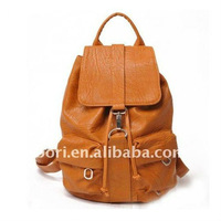 2012 yellow lady leather cross shoulder bag