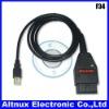 OBDII OBD2 VAG K + CAN-1,4USB Car Diagnostic Interface Kabel Scanner Tool F34