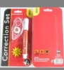 correction tape and coorction pen mixted packaging in low price with high quality