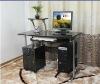 glass computer desk design