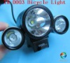 TrustFire TR-D003 Bicycle Light 1*T6 LED + 2*R2 LED 3 Mode Bike Lamp