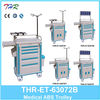 GOOD PRICE !! THR-ET-63072B medical emergency trolley
