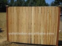 China fir wooden fence