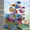 [TATA]JOYFUL!self-rotating sightseeing cart amusement park rides