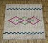 elegant delicate manual woven home straw door mat