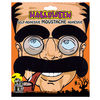 Halloween make up trick mustache