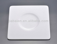 High quality bone china appetizer or snack plate