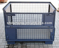 Rigid Collapsible heavy duty Wire Container