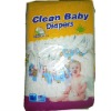 Clean baby disposable diaper