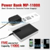 11000mAh power pack for smartphone