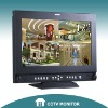 "17"" lcd cctv security monitor with HD SDI"