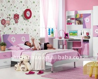 Kid bed children bedroom A35#