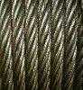 Ungalv. compacted steel wire rope