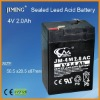 JIMING Sealed Lead acid battery:4V 2.0Ah