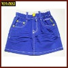 blue color children shorts girls short kids shorts girls skorts girl jeans