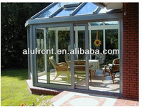 Balcony Aluminium Glass Sun Room