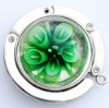 Murano Glass Pendant Bag Hook Hanger Holder