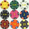 Custom different kinds design and quality poker chips