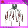 HUIPU 072082-8 low voltage lamp red crystal chandelier