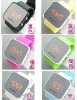 2012 the most popular LED mirror watches, fashion trends, manufacturers direct marketing