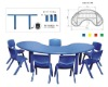 New style high quality children study table and chair