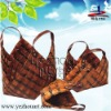 natural handmade lady straw handbag