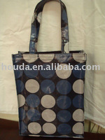 easy-taking strong PVC shopping hand bag waterproof