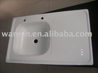 ENAMEL STEEL SINK