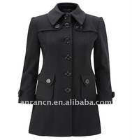 Winter Slim Wool Women's Coat
