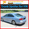 PU Rear Spoiler Trunk Spoiler for VW Passat B7 2012-JC style