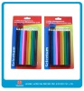 jumbo colouring pencil with plastic sharpener